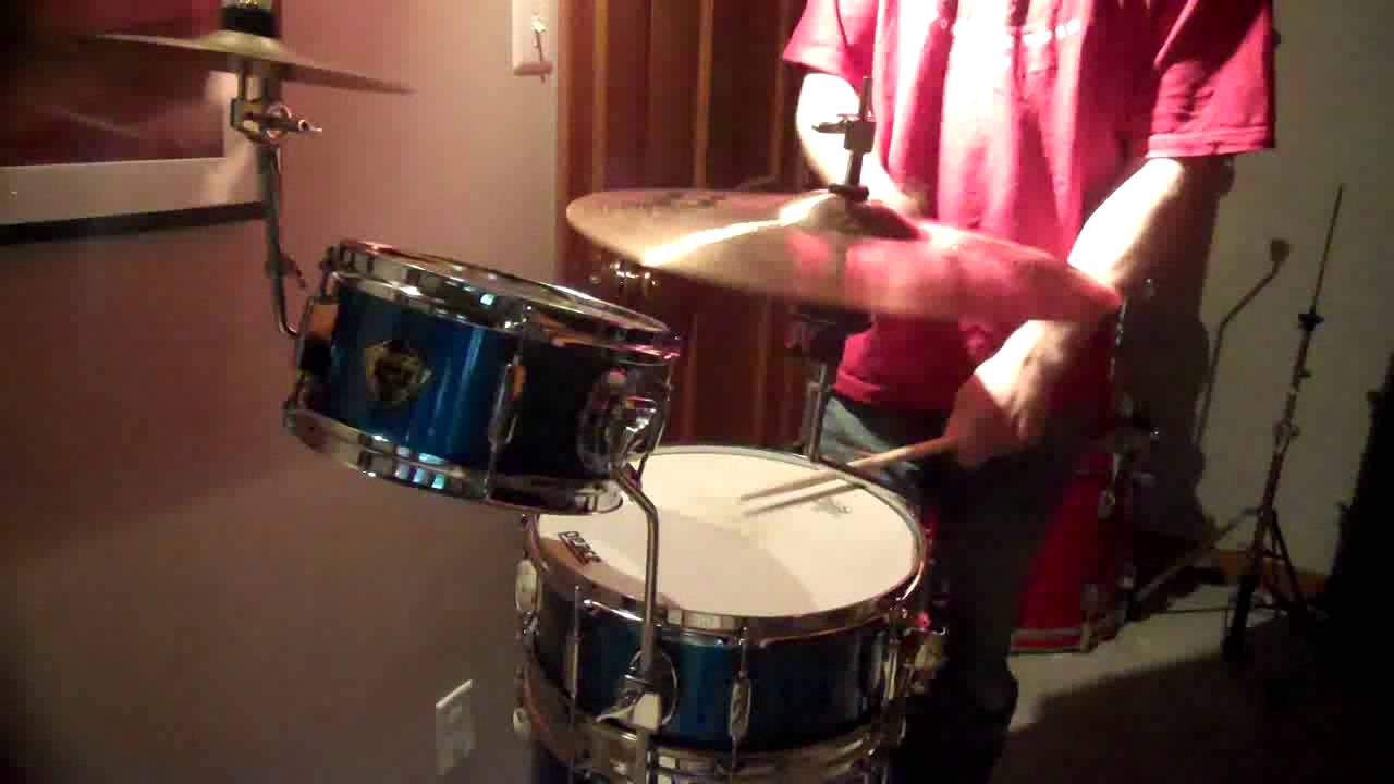 Tiny house drumsets kits space saving cocktail drums percussion from peace w solo youtube - Youtube small spaces set ...