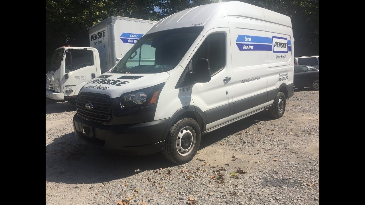 2017 Ford Transit 250 Extended Wheelbase High Top Penske