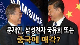 신의한수 / 삼성전자 국유화 또는 중국에 매각?