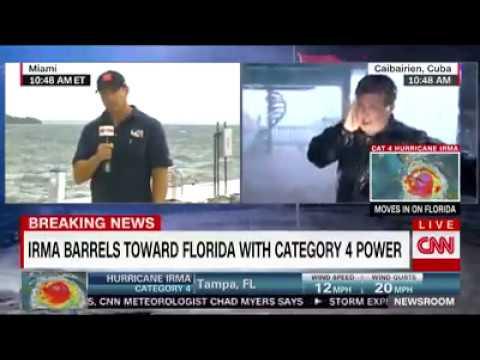 Breaking news _ Patrick Oppmann on haricane Irma from Cuba