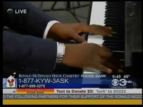 Jacobs Music Company's Steinway Grand at the CBS3 Ronald McDonald House Charities 2013 Telethon