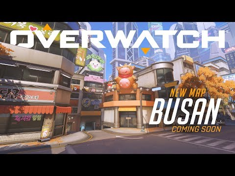[NOW PLAYABLE] Busan | New Control Map | Overwatch