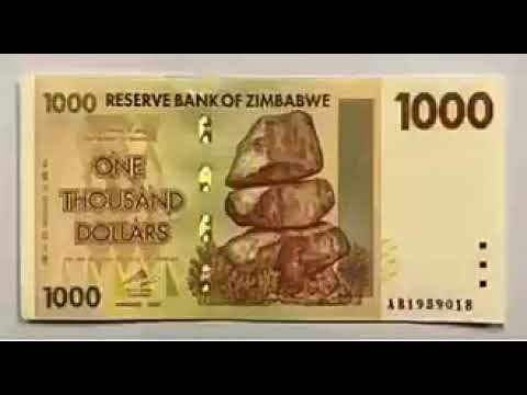 Evolution of zimbabwe currency (A MUST WATCH)