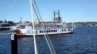 Steamboats on Lake Union