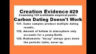 Carbon Dating Just Doesn't Work - Creation Evidence #29