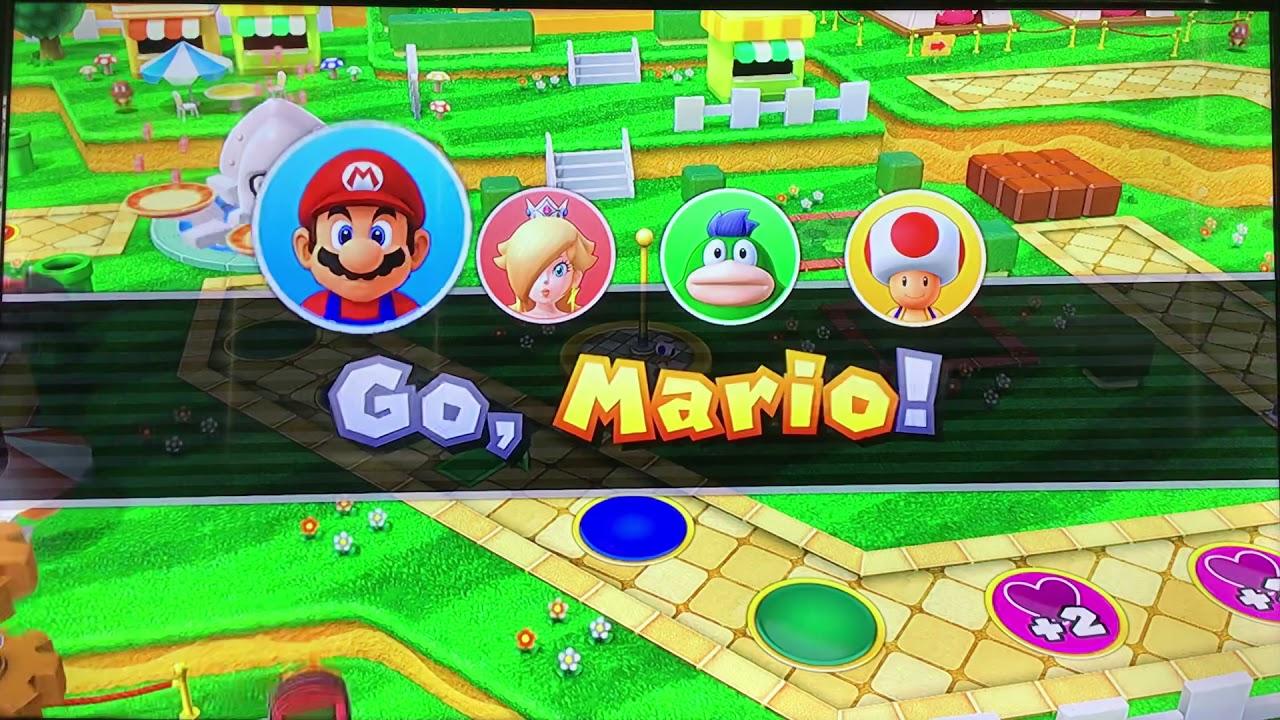 Mario Party 10 Mushroom Park Master Difficulty
