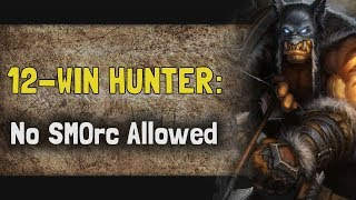 Hearthstone Arena | 12-Win Hunter: No SMOrc Allowed (Rastakhan #3)