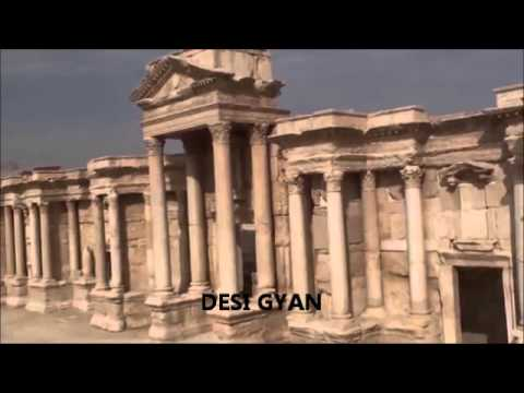 Stunning Video of 2000 year old Roman temple in Palymra - destroyed by Islamic Pigs