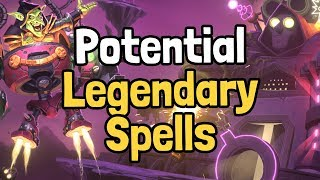 8 Potential Legendary Spells in Boomsday - Hearthstone