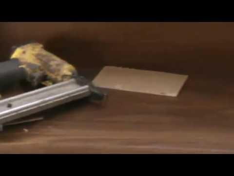 forrando escaleras: escalera forrada con madera zucupira - YouTube