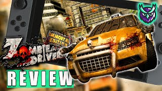 Zombie Driver: Immortal Edition Switch Review - Vehicular Zombie Combat! (Video Game Video Review)