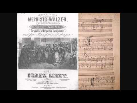 """Franz Liszt """"Mephisto Waltz  n° 1"""" S 514"""