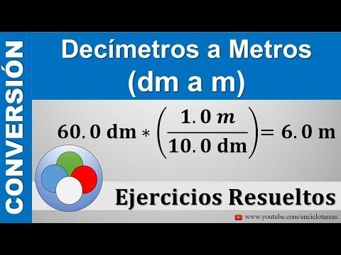 Decímetros A Metros (dm A M)
