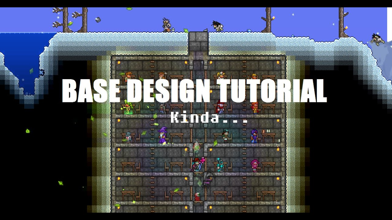 Base Design Tutorial Terraria YouTube