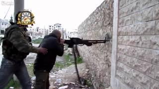 Sýrie - velkorážný kulomet