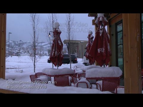 Park City, Utah Winter Storm - 12/22/2015