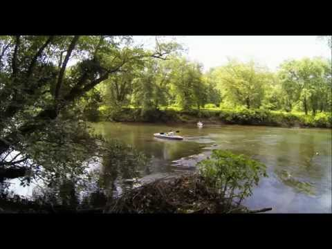 The Toccoa River   The Rainbow Trout And BIG BROWN