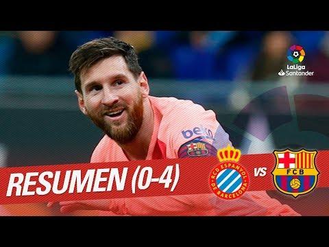 Resumen de RCD Espanyol vs FC Barcelona (0-4)