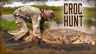 Hunting a HUGE Nile Crocodile in Africa