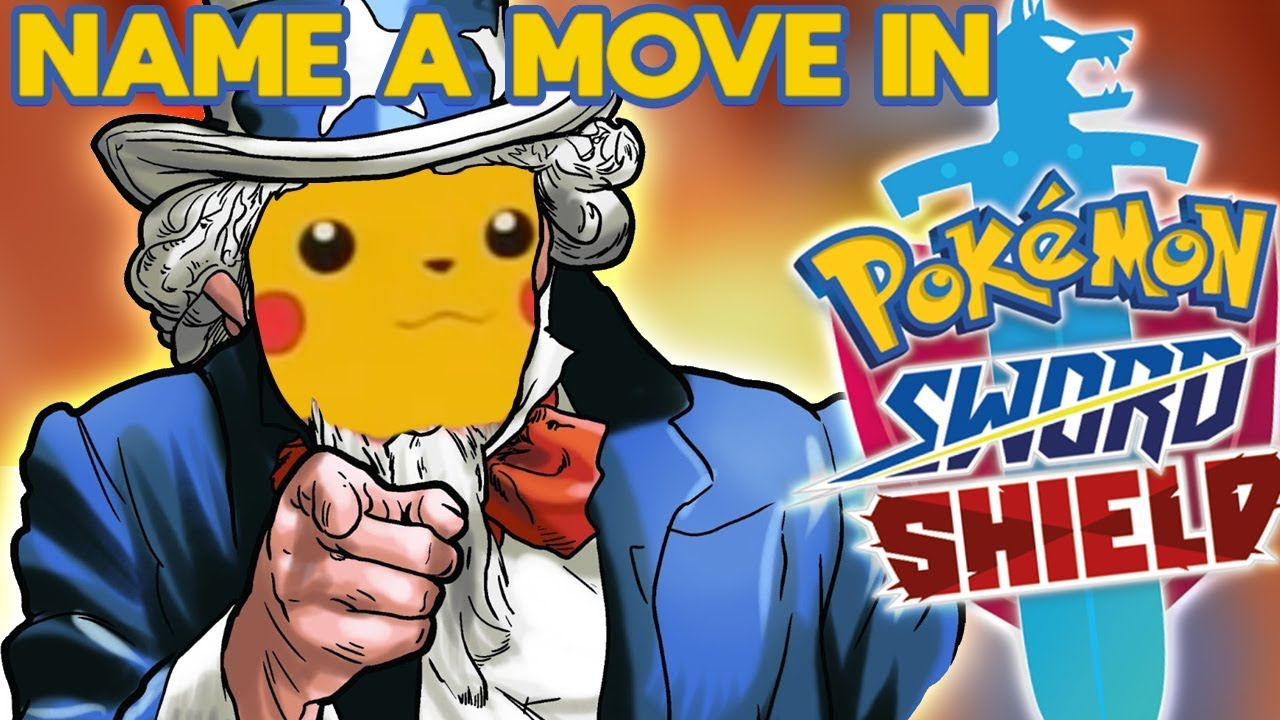 YOU Can Name a Move in Pokemon Sword & Shield!?