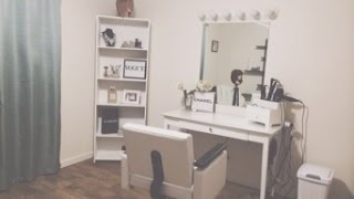 Home Studio! Salon! Ideas for home studio hair and makeup