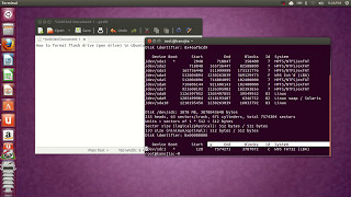How to format flash drive (pen drive) in Ubuntu any version...
