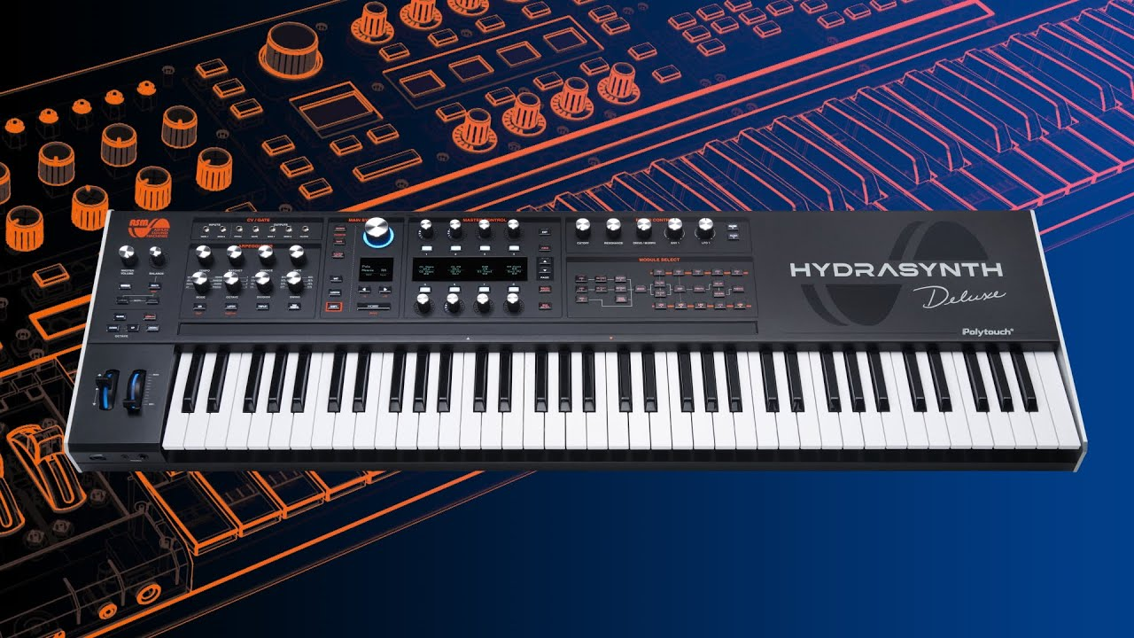 Hydrasynth Deluxe Introduction