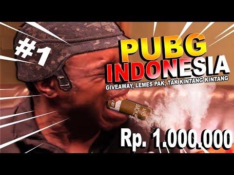 PUBG INDONESIA - GIVEAWAY 1JT, PAK LEMES PAK, TAK KINTANG KINTANG, FUNNY MOMENTS #1