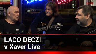Xaver LIVE s hostem: Laco Deczi
