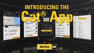 Introducing the Cat® App - Available now for WesTrac customers