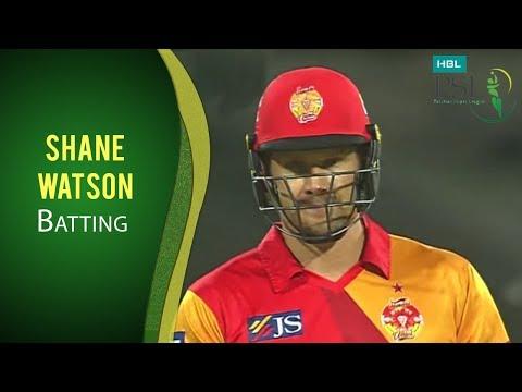 PSL 2017 Match 7: Islamabad United v Quetta Gladiators - Shane Watson Massive Six