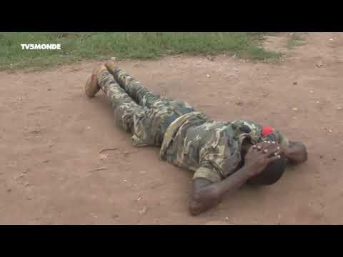 Opération de sécurisation à Bangui