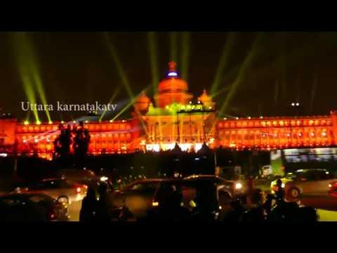 vidhana soudha bangalore Vajra Mahotsava |Vidhana Soudha @ 60|vidhana Soudha Night lighting