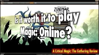 Is it worth it to play Magic The Gathering Online? A Critical MTG Review