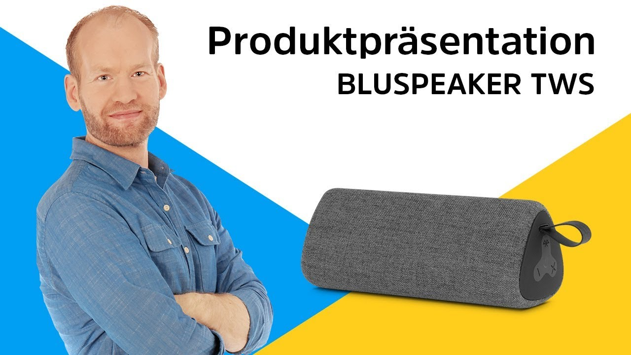 Video: BLUESPEAKER TWS | Schöner, echter Stereoklang. | TechniSat