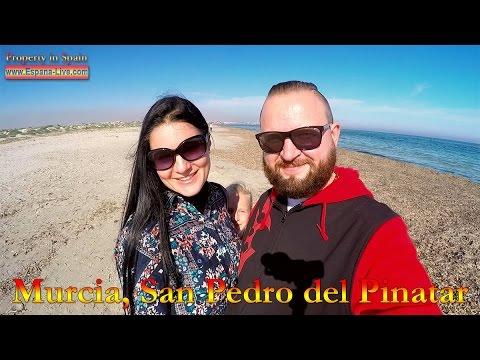 Испания 2016 Мурсия, Пляж, море и озера Salinas de San Pedro del Pinatar