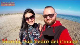 Испания 2016 Мурсия, Пляж, море и озера Salinas de San Pedro del Pinatar(Испания 2016 Мурсия Пляж, море и озера в природном парке Мурсии Salinas y Arenales de San Pedro del Pinatar, пляж Playa el Mojon и Playa..., 2016-02-15T11:09:04.000Z)
