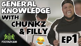 CHUNKZ AND FILLY TAKE ON BATS, SPACE AND WW2 | GENERAL KNOWLEDGE EPISODE 1