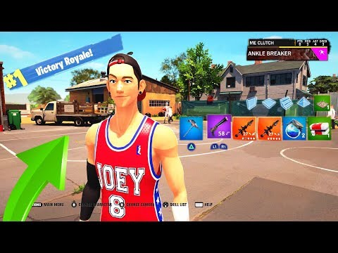 This is the Fortnite Version of NBA 2K20... |