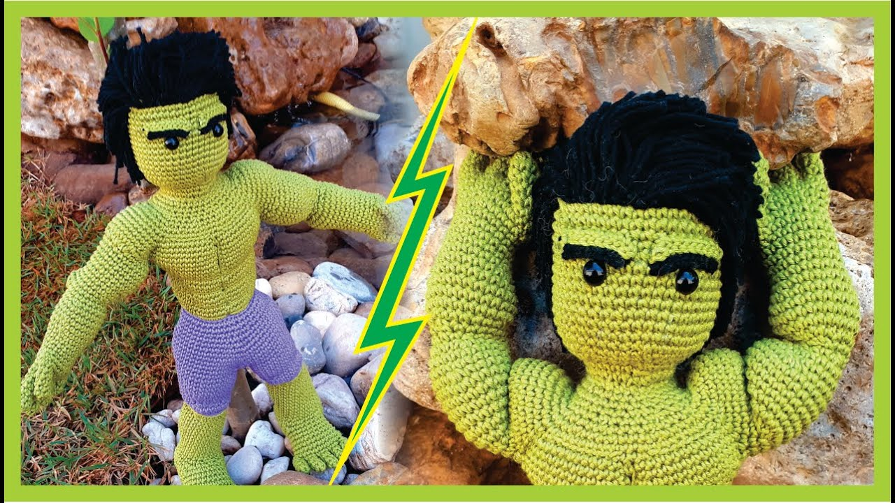 Incredible Hulk crochet amigurumi toy. Inspired by Marvel ... | 720x1280