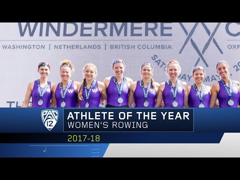 Washington's Brooke Mooney earns Pac-12 Women's Rowing Athlete of the Year accolades