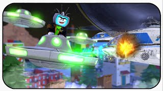 Its War Of The Worlds - Roblox Ufo Invasion Simulator