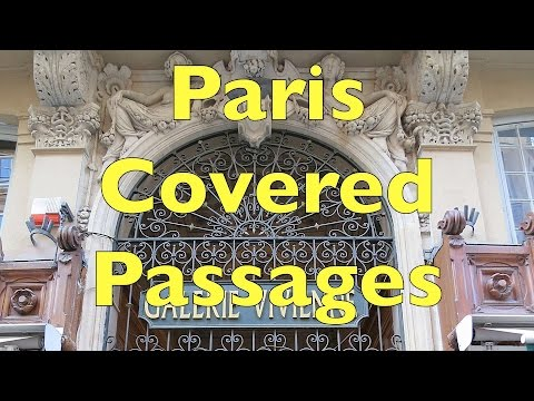 Things to do in Paris – Stroll through the Covered Passages