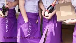 видео рубашки для официантов