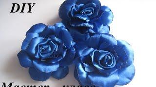 Роза из атласной ленты. Как сделать розу из атласной ленты МК.DIY(ПОДПИСАТЬСЯ НА КАНАЛ / SUBSCRIBE https://www.youtube.com/channel/UCgLXuwFHOBwRYHnWBcFocrw Посмотреть какие еще цветы можно ..., 2015-01-05T18:18:22.000Z)