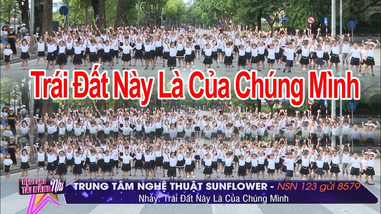 NSN 123. TT Nghệ thuật Sunflower – Trái Đất Này Là Của Chúng Mình |  Tìm kiếm Ngôi Sao Tài Năng Nhí
