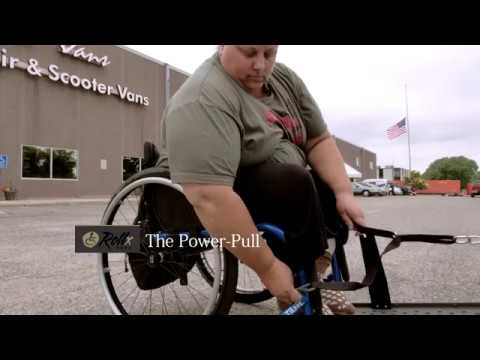 Pull Power Wheelchair Ramp Assist