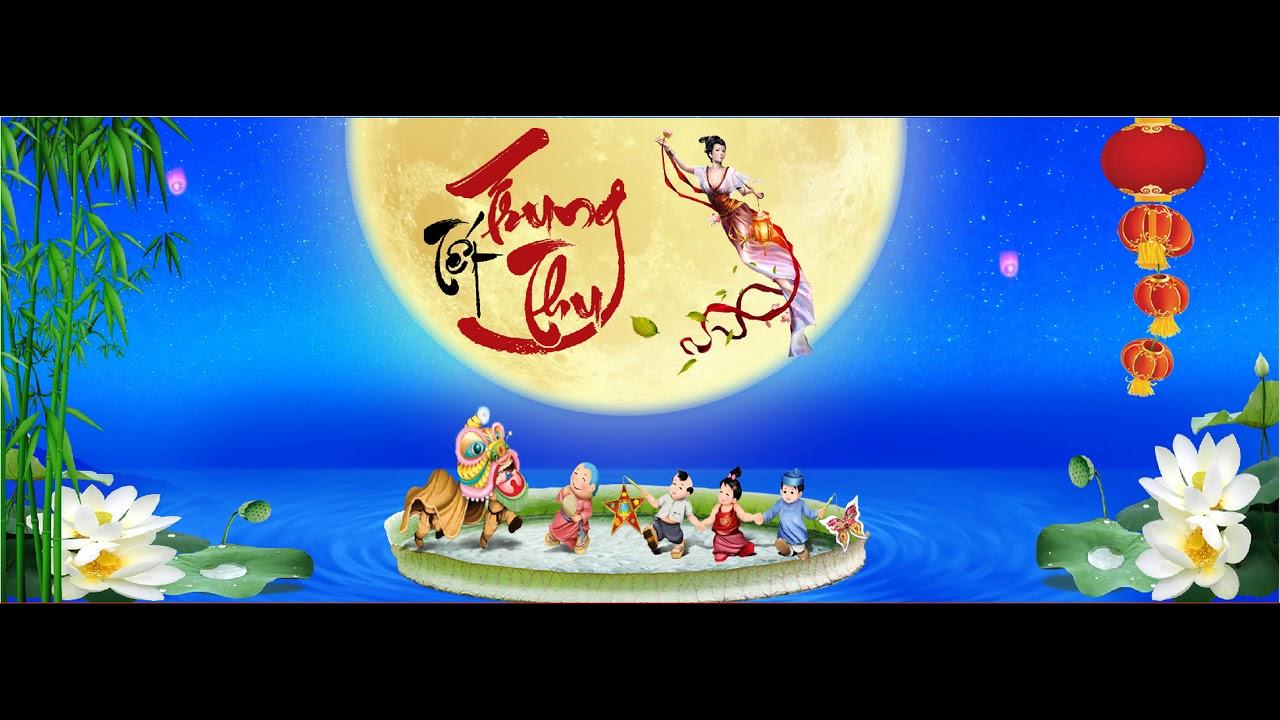 Free Download Backdrop Trung Thu – Phông Trung Thu – Sân Khấu Trung Thu #1