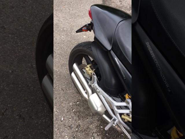 Danmoto Xg 1 Install On A Ducati Monster Travelerbase Traveling