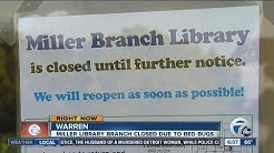 Warren Library Bed Bugs